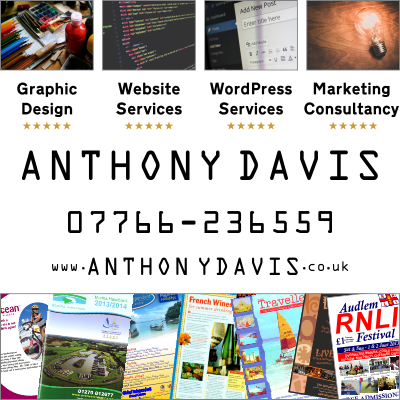 Anthony Davis - Graphic Design, Website Services and Marketing Consultancy