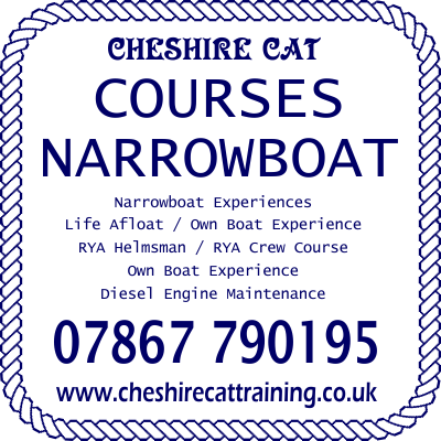 Cheshire Cat Narrowboat Training