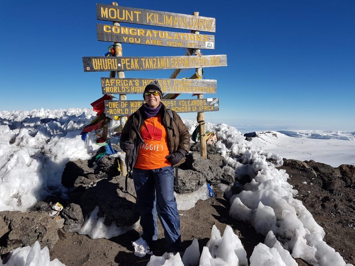 Kilimanjaro Summit Success in Aid of Maggie's Cambridge