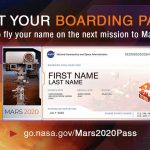 NASA is inviting the public to submit names to fly aboard the next Mars rover